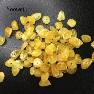 Нестандартные ЯНТАРНЫЕ шарики Yoowei для самостоятельного изготовления, оригинальные гранулы для Etsy