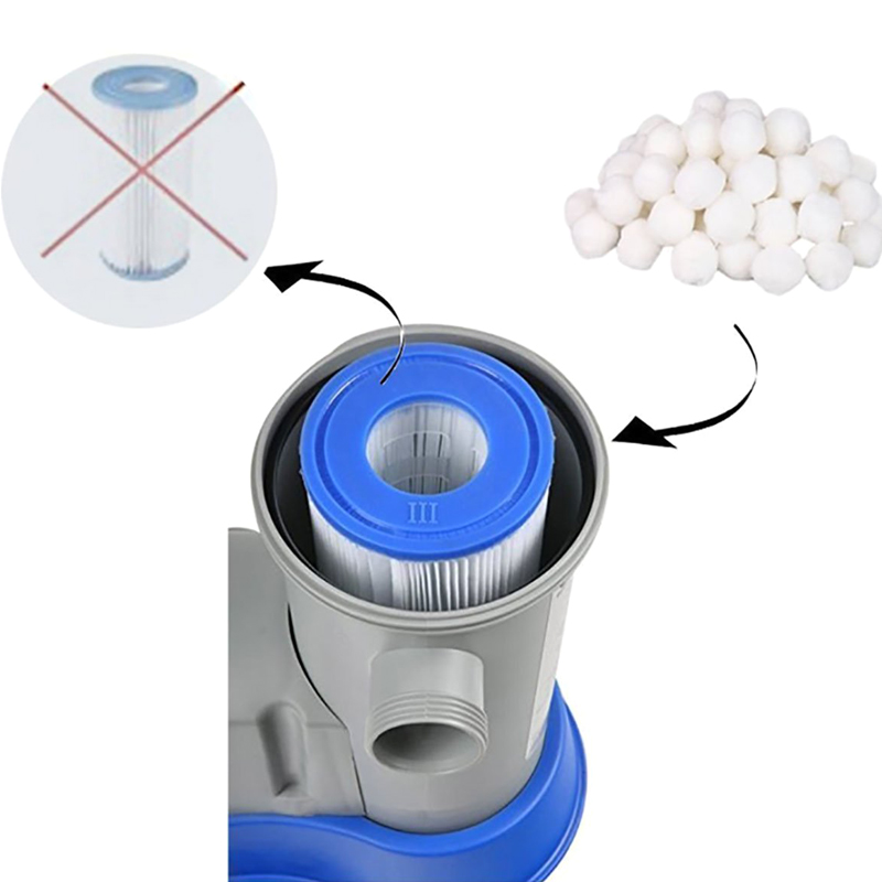 Filter Balls Water Purification Fiber Ball Filter Deoiling Fiber Ball Swimming Pool Spa YS BUY