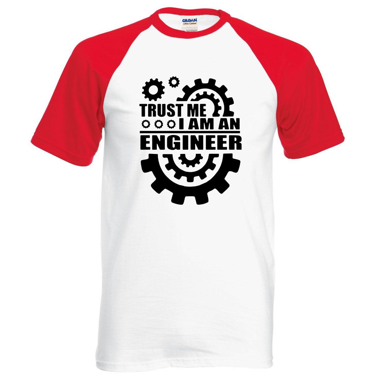 Oberteile Und T-shirts Herrenbekleidung & Zubehör Kreativ Coolmind Tr0112a Baumwolle Vertrauen Mich Ich Bin Ingenieur Gedruckt Männer T-shirt Casual Männer T-shirt Oansatz Gestrickte Tops T Shirts