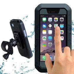 Na świeżym powietrzu wodoodporna rowerów kierownica uchwyt na telefon dla iPhone X 7/8 Plus w Zewnętrzne narzędzia od Sport i rozrywka na