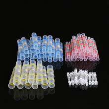 OOTDTY 75Pcs 4 Sizes Shrinkage Solder Sleeve Heat Shrink Tube Wire Terminal Connectors Waterproof New 2018