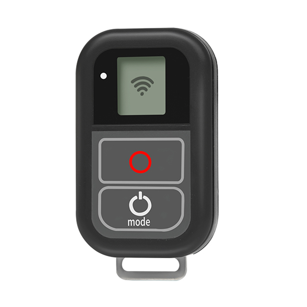 цена на SHOOT 0.8 Inch Waterproof Wireless Wifi Remote Control for GoPro Hero 6 5 4 3 with Charger Cable Strap for Go pro Accessory