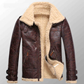 Fuax Fur  Winter Short Paragraph Leather Clothing Male Double-Faced Fur Coat  GSJ44