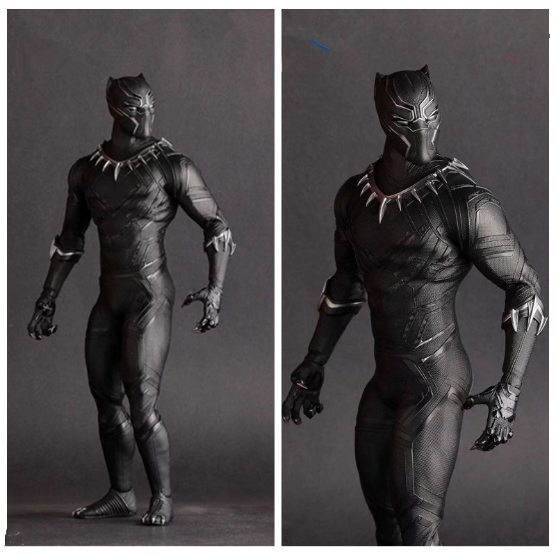 12Inch The Crazy Toys Avengers Infinity War Black Panther PVC Action Figure Collection Superhero Model Toy Brinquedos Gift L1590 12 inches superhero avengers infinity war batman vs superman bruce wayne dc comics cape action figure collectible model toy l431