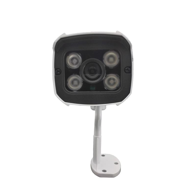 ФОТО HJT 32G TF card HD 720P IP Network Camera Night 4IR lamp P2P metal mini outdoor waterproof Security