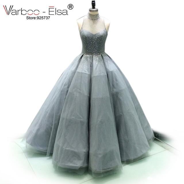 e6210319742 VAROO ELSA Arabic Girl Dresses Glitter Sequins ball gownEvening Dresses  Long Evening Gown Gatsby Dress Western Arabic Dress