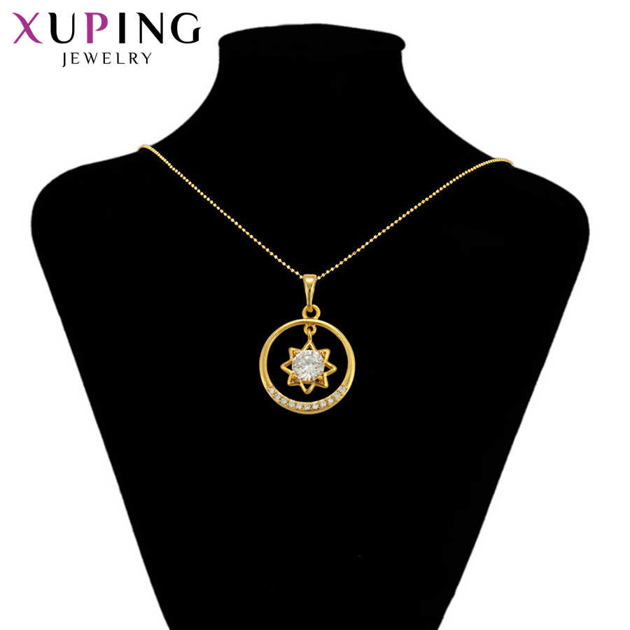 Xuping bijoux pour femmes synthèse zircon cubique Style européen pendentif étoile en forme de fête des mères cadeaux S105, 6-34558