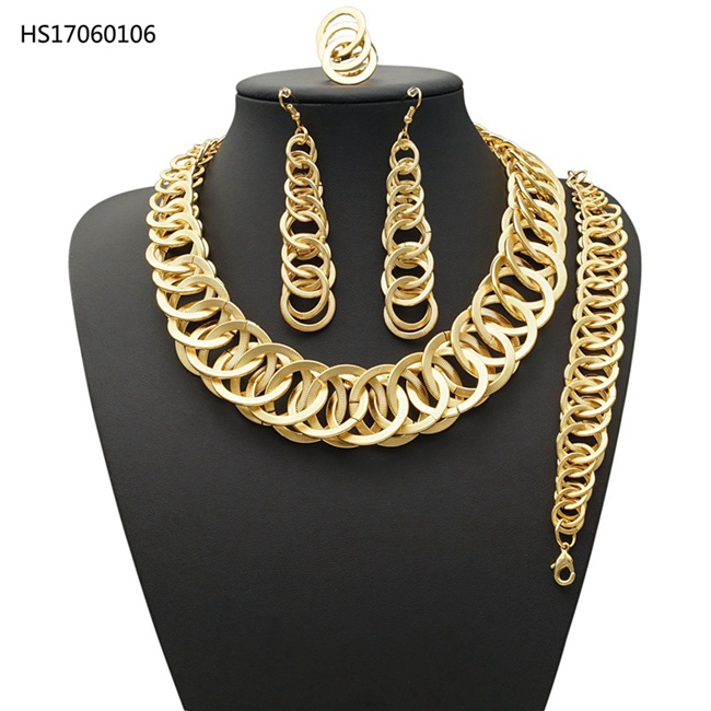 YULAILI Exquisite Dubai Gold Jewelry Set Nigerian Wedding Women Accessories African Beads Costume JewelleryYULAILI Exquisite Dubai Gold Jewelry Set Nigerian Wedding Women Accessories African Beads Costume Jewellery