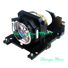 DT00911 Projector Lamp for HITACHI HCP-A10/CP-WX401/WX410/MVP-E35/XW410/CP-X201/X206/X301/X306/X401/X450/X467/ED-X31/X33 original projector bulb projector lamp dt01181 fit for hcp a82 hcp a83 hcp a85w