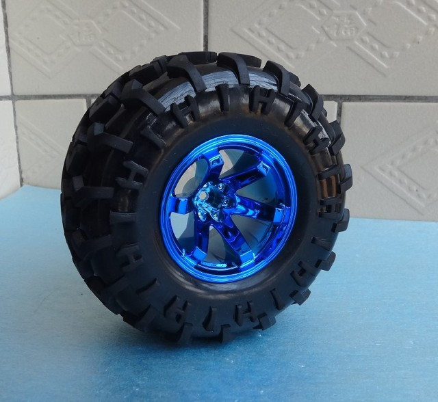 125mm smart car wheels cross country tire robot car parts for