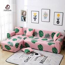Parkshin İskandinav Slipcover kaymaz elastik kanepe Polyester dört mevsim her şey dahil streç kanepe yastığı 1/2 /3/4 kişilik