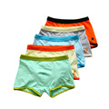 Print Letter Pants For Boys Cuecas Boxer Briefs Cotton Ventilation Shorts Underwar Kids Clothing Simple Roupa Interior