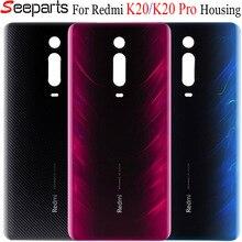 Xiaomi Redmi K20 Pro Mi 9T Pro Batterie Abdeckung Zurück Glas Panel Hinten Tür Fall Redmi K20 Zurück Abdeckung mit Klebstoff K20 Mi9T Gehäuse