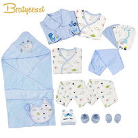 21 Pcs Set Cotton Newborn Baby Clothes Baby Girls Boys Clothes Set Toddle Baby Clothes Baby