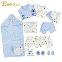 21 Pcs Set Cotton Newborn Baby Clothes Baby Girls Boys Clothes Set Toddle Baby Clothes Baby