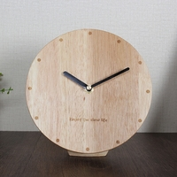 Meijswxj Wood Bracket Clock Saat Reloj Desktop Clock Bedside Relogio Reloj despertador Table Clocks Masa saati Relogio de mesa