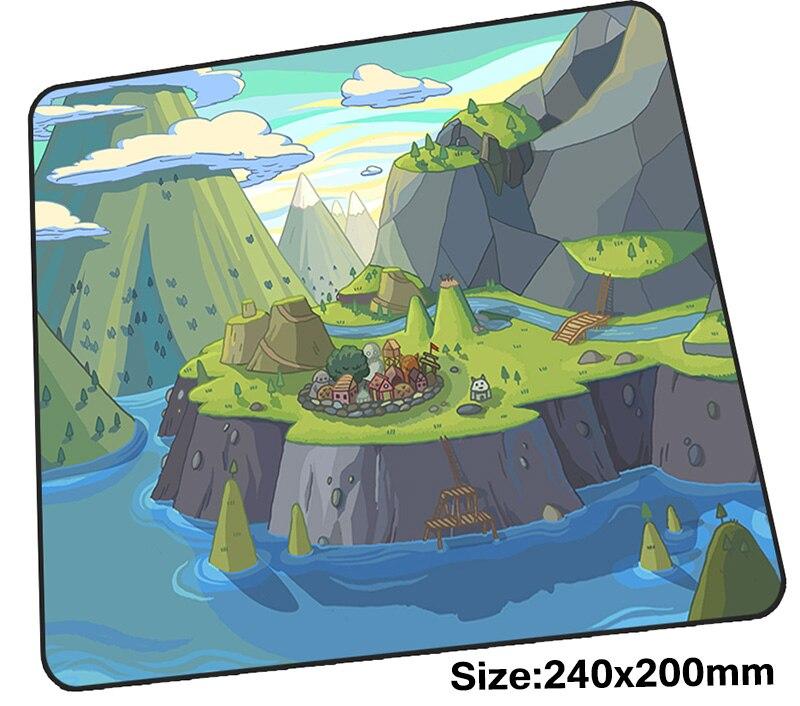 Время приключений коврик для мыши 240x200x3 мм коврики для мыши лучший игровой коврик для мыши геймер высокое качество коврики для мыши с вашим ... ...
