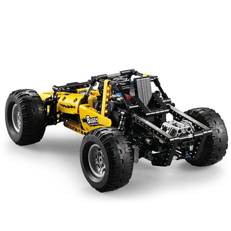 522 pièces 2.4 Ghz Legoing Technique Ville RC Tout Terrain D'escalade Hors Route Camions Voiture Hors Route Course Blocs De Construction Briques Jouets Cadeaux - 2