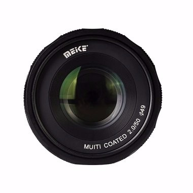 Meike MK-FX-50-2.0 50mm f2.0 Large Aperture Manual Focus lens APS-C For Fujifilm Mirrroless cameras metco meike mk f af3 fuji микро сингл крупным планом кольцо