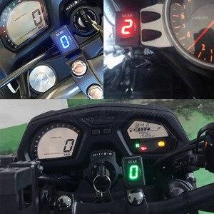 Image 5 - Motocykl LCD 1 6 poziom wyświetlacz biegów 6 prędkości sprzęt cyfrowy miernik dla Kawasaki wszystkie FI Model Z750 Z800 Z1000 ER6N Ninja 300 ZX6R