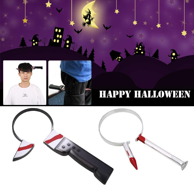 April Halloween Funny Prank Cosplay Props Finger Nail Spoof Decor Toys