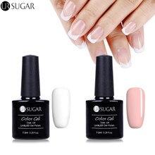 Ur сахар 3 шт. 7.5 мл белый и розовый Гели для ногтей польский и набор для французского маникюра Совет Гиды Аксессуары Дизайн ногтей uv гель