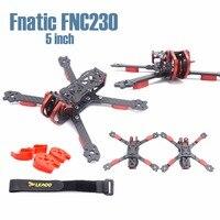 Fnatic FNC230 230mm 5 inch HX and trueX aluminum parts adjustable carbon fiber frame Quadcopter FPV Racing Drone