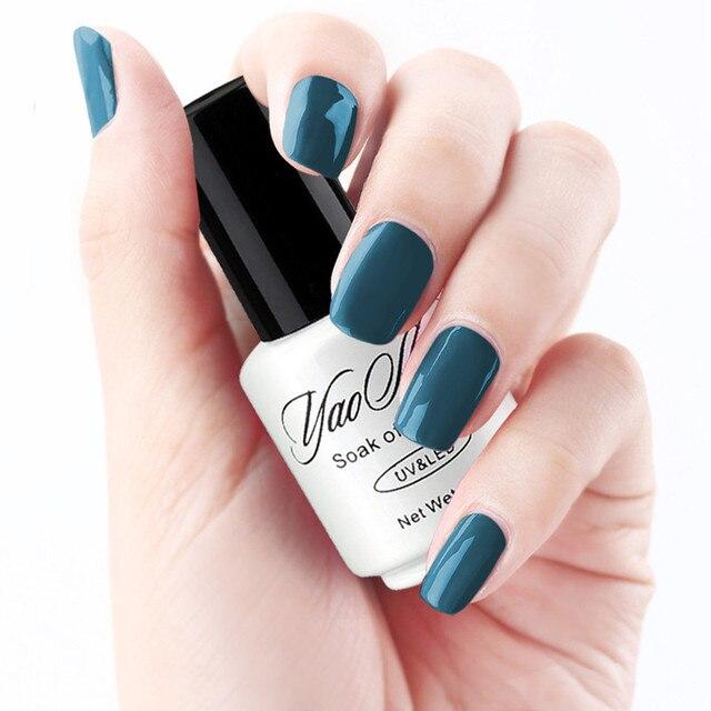 YaoShun Esencial esmalte de uñas de gel Neutro 12 tipo de color ...