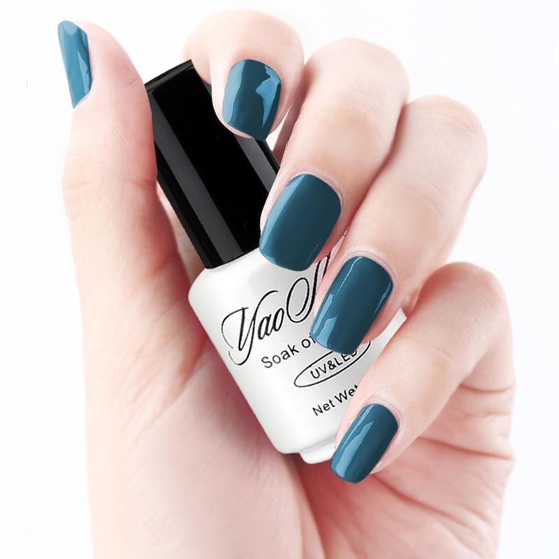 YaoShun Essential Neutral gel nail polish 12 kind of color Soak Off ...