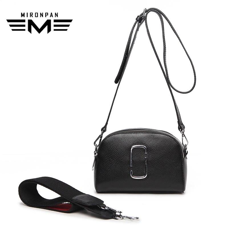 MIRONPAN 2018 nouveauté femmes Messenger sac pochette affaires en cuir véritable sac femmes Shopping affaires doux sac à main