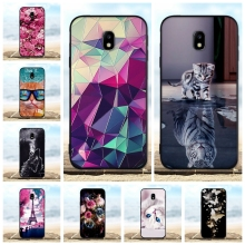 For Samsung Galaxy J3 2017 J330F Case Soft Silicon TPU Cover 3D Cute Cat Pro Phone Cases