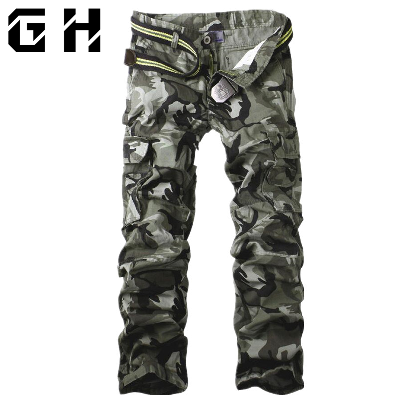 Man Trousers Tactical-Pants Urban Military-Clothing Multi-Pocket Army Men's Casual SWAT