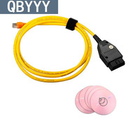 Carcode ENET Data Cable Ethernet To OBD2 For BMWcar F Series Programming Cable For BMWcar ENET