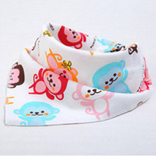 CHUYA BIB BABY BIBS triangle Cotton Cartoon Child Bib Baberos Children Scarf Bandana Baby Bibs For Babies Bebes baby bandana(China)