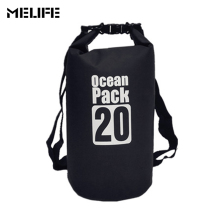 MELIFE 20L Outdoor Diving Compression Storage Waterproof Dry Bag Sports Kayaking Canoeing Swimming Bag Ocean Pack Sack