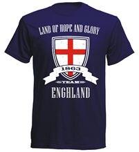 100% Cotton Short Sleeve 100% Cotton Short Sleeve O-Neck T-Shirt England Footballer Fashion Classicmen T Shirt Clothes