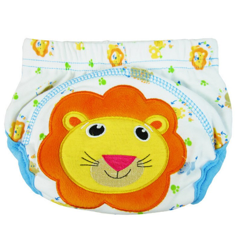 Cute Newborn Baby Cloth Diaper Waterproof TPU Panties Diapers Training Pants Covers 2019