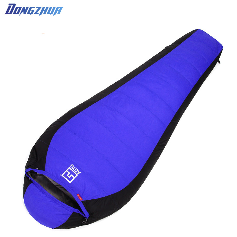 Ultralight Down Sport Hiking Sleeping Bags Outdoor Winter Camping Duck Down Adult Mummy Waterproof Sleeping Bags gazelle outdoors apply spring autumn winter camping outdoor mummy sleeping bags