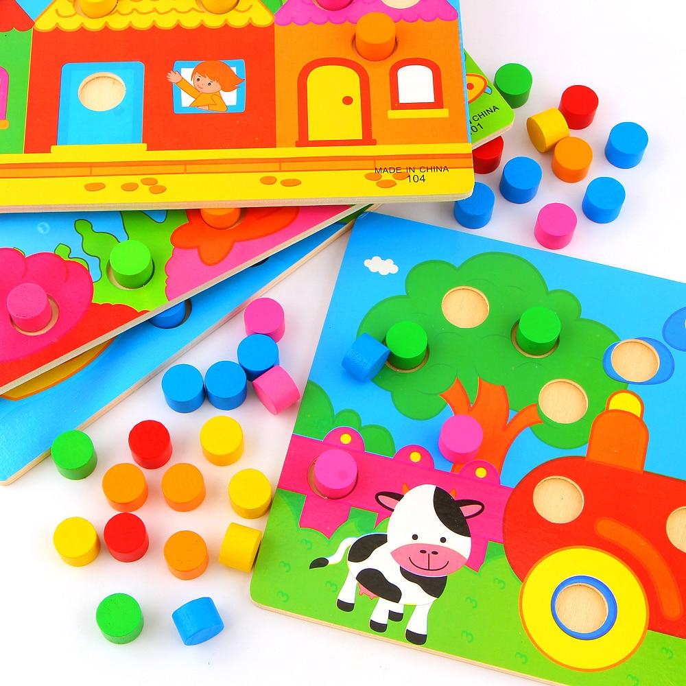 Color Cognition Board Montessori балаларға арналған - Білім беру және оқыту - фото 4