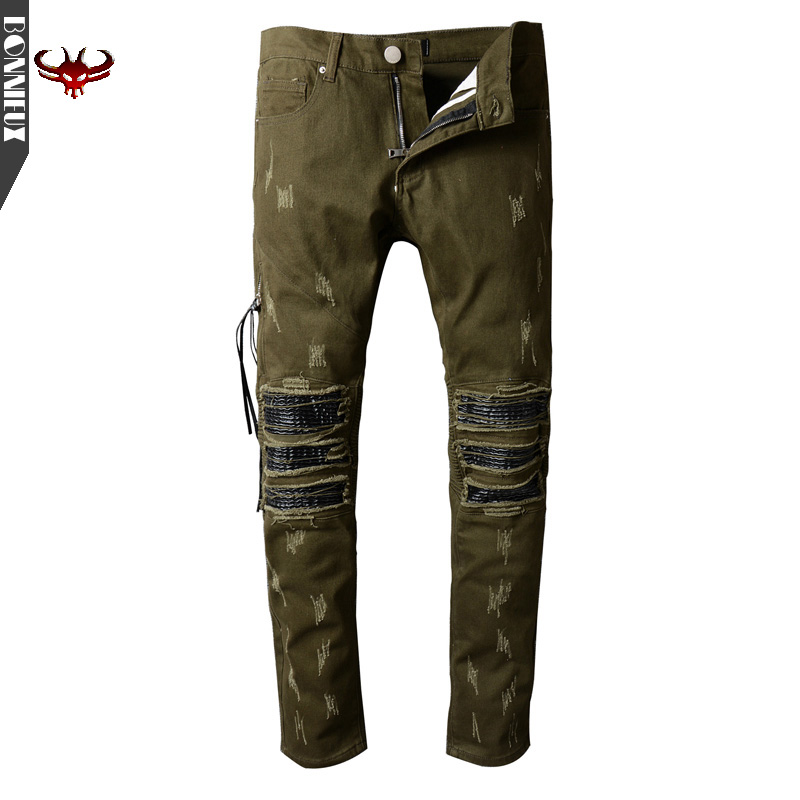 Men Jeans New Arrival Design Slim Fit Fashion Jeans For Men Good Quality army green black navy m xxl quality 2017 spring new arrival ripped jeans for men fashion brand men jeans slim fit jeans men jx01