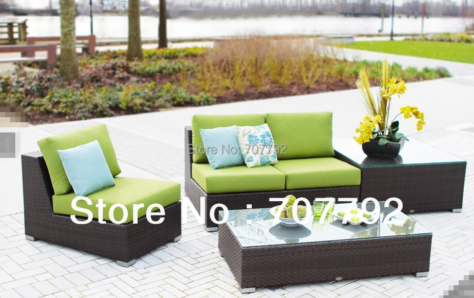2017 New Style Garden French Style Wicker Furniture