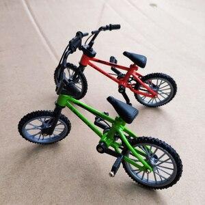 Пальчиковый велосипед, игрушечные велосипеды BMX, мини пальцевый велосипед BMX, рама, модель BMX из сплава, игрушки для взрослых, детские подарки...