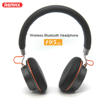 Remax 195HB Wireless Headphones Bluetooth Earphone Stereo Hands Free Headset over-ear headphone with microphone for mobile phone
