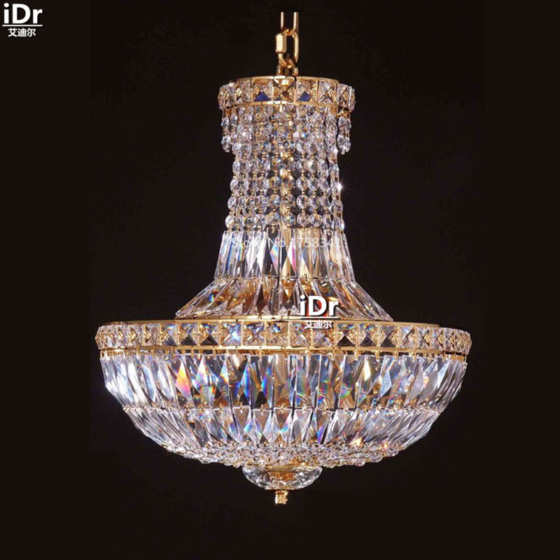 Chandeliers Small Iron Hanging Lamp Crystal Lamp Bedroom Lamp Study - Chandelier crystals wholesale india