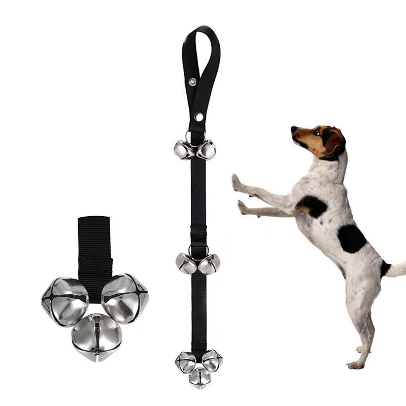 Dog Doorbells For Dog Training And Housebreaking Clicker Door Bell 7 Count  Black In Other Dog Training Aids From Home U0026 Garden On Aliexpress.com |  Alibaba ...
