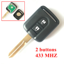 2 Кнопки Дистанционного Ключа 433 МГЦ Для Nissan Elgrand X-TRAIL NAVARA MICRA PRIMERA Дистанционный Ключ С 7946 Доска