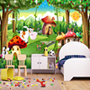 Custom 3D Photo Wallpaper Children Room Bedroom Cartoon Forest House Background Decoration Painting Wall Mural Papel De Parede 1
