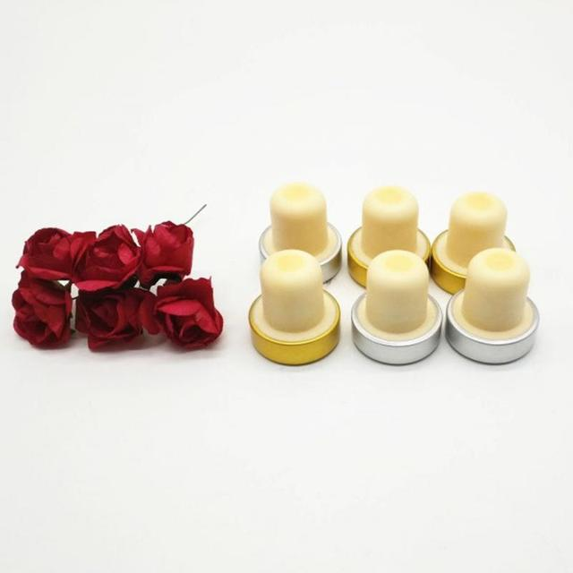 Compact T-Shaped Bottle Stoppers Set
