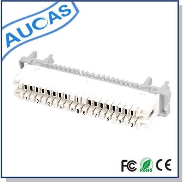AUCAS 20PCS Modul de deconectare 10 perechi krone Modul krone de fier Transport de înaltă calitate