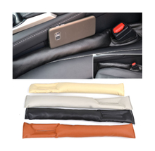 Front Car Seat Gap Stopper Leak Proof Stop Pad Filler Spacer Soft Mat Cushion Cover Comfortable Accessories Universal Fit